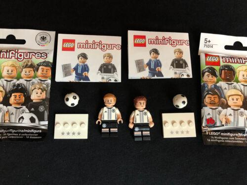 Lego Marco Reus /& Mario caprices Minifigures DFB-L/' équipe 71014 NEW personnage