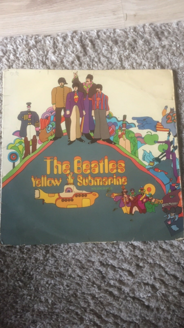 LP, The Beatles, Yellow Submarine, Rock, Plade er i god…