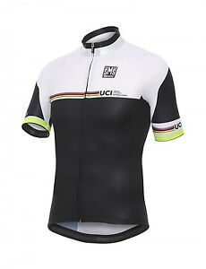 2016 17 UCI IRIDE CYCLING JERSEY in Black White Made in Italy by ... 6708d24f1