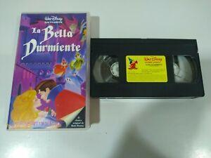La-Bella-Durmiente-los-Clasicos-de-Walt-Disney-VHS-Cinta-Tape-Espanol