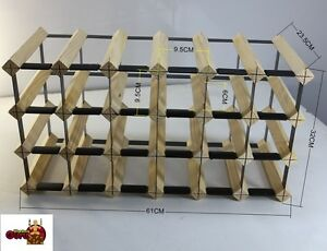 24-BOTTLE-WINE-RACK-BORDERS-ORIGINAL-AND-THE-BEST-FREE-POSTAGE