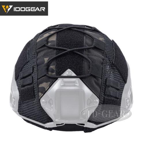 IDOGEAR Taktische Helmdecke Für Schnelle Helm Camo BJ//PJ//MH Typ Militär Armee
