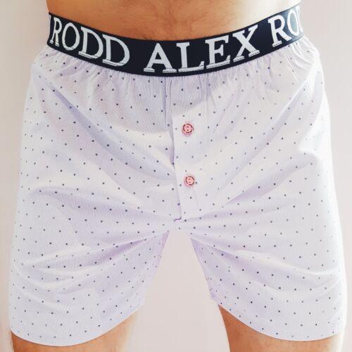 Violet boxeurs avec rose boutons par Alex Rodd