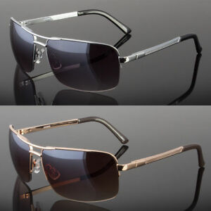 New-Men-039-s-Classic-Sunglasses-Metal-Driving-Glasses-Aviator-Outdoor-Sports-UV400
