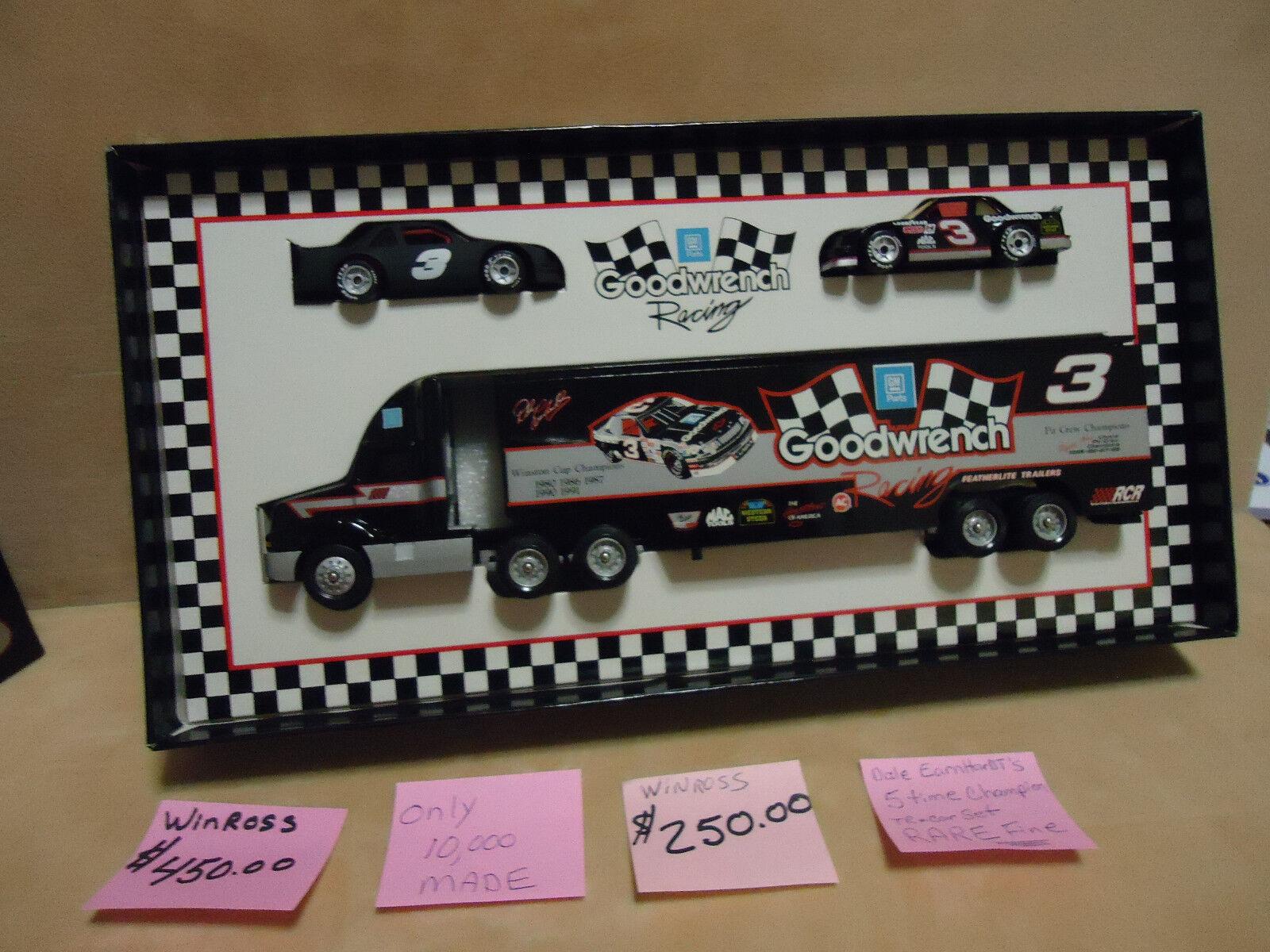 WINROSS DALE EARNHARDT SR. NASCAR GOODWRENCH SET WINROSS CARS