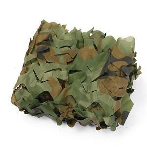 Red de camuflaje Woodland militar airsoft paintball 1x1 para caza Nueva boque