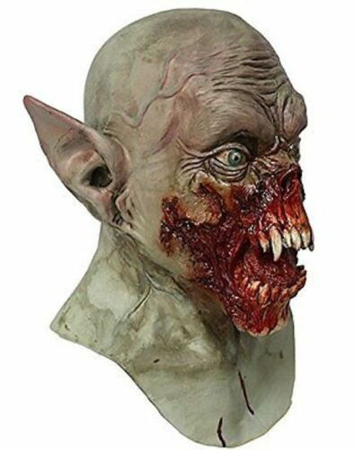 Scary Latex Zombie Vampire BAT Mask Deluxe Bloody Demon Fancy Dress Halloween