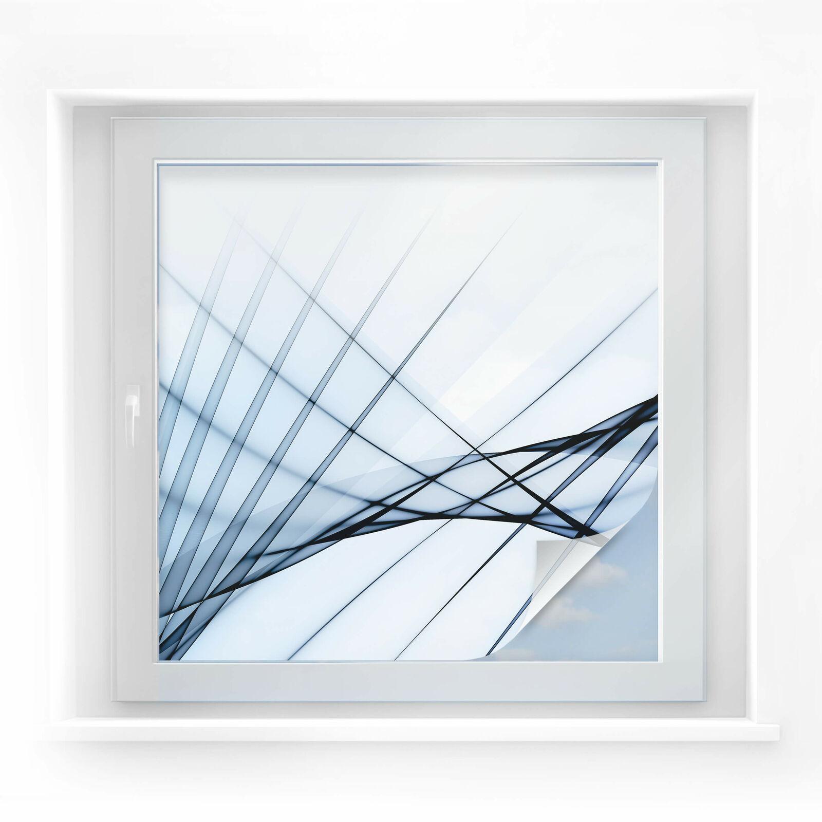 Sichtschutzfolie Illustration 01 - quadratisch