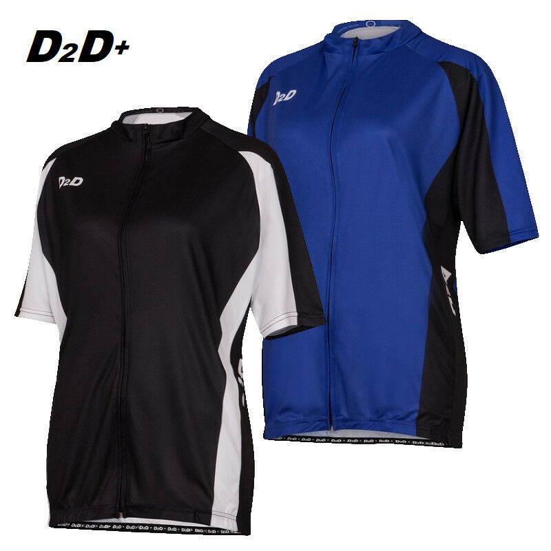 D2D p1S Ladies Plus Size Short  Sleeve Cycling Jersey  Relaxed fit in 2 3 4XL+  the most fashionable