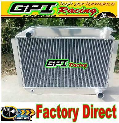 56 mm Aluminum Radiator UP TO 700HP CHEVY CORVETTE 350 V8 M//T 1955-1960
