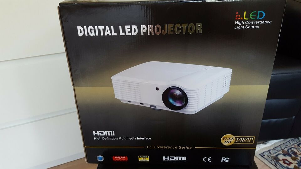 Projektor, ABIS HD 6000 plus Home & Gaming LED Smart Anroid,