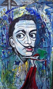 "DALI Surrealismus GRAFE,Acryl auf Leinwand 120x200cm""Hommage an SALVADOR DALI"" - Oberursel, Deutschland - DALI Surrealismus GRAFE,Acryl auf Leinwand 120x200cm""Hommage an SALVADOR DALI"" - Oberursel, Deutschland"