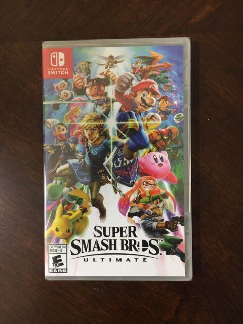 Nintendo Switch Super Smash Bros. Ultimate Brand New - Free Shipping
