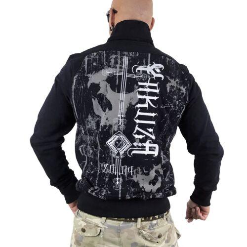"Stehkragenjacke ZB 9036 /""Dark Side/"" black YAKUZA schwarz Jacke"