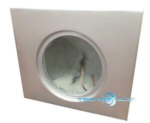 "12"" FIBER GLASS ENCLOSURE SUBWOOFER BOX FOR 2004-2012 RANGE ROVER FULL-SIZE FIT"