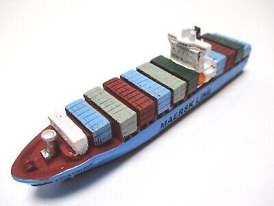 Schiff Modell Containerschiff Emma Maersk Line,11,5 Cm Poly Neu Weder Zu Hart Noch Zu Weich