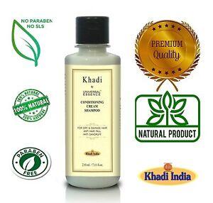 Khadi by Universal Essence Argan Oil Shampoo With Aloevera & Bhringraj 210 ml