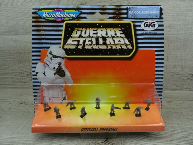 Star Wars Micro Machines Galoob Imperial Officers Action Figures 1996 Italian