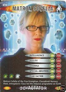 DR WHO DEVASTATOR CARD 936 STRACKMAN LUX