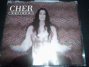 Cher-Believe-The-Remixes-Australian-5-Track-CD-Single-Like-New