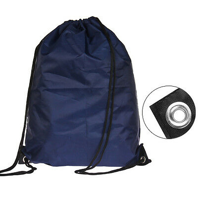 2016Waterproof Drawstring RuckSack/Bag/Sack/Backpack Solid - Swim/School/Book SC