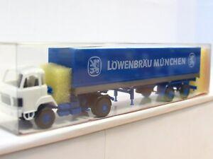 Roskopf 513 Saurer Pritschensattelzug Löwenbräu München OVP (TR3051)
