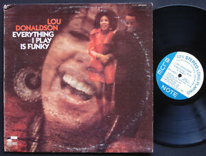 LOU-DONALDSON-Everything-I-Play-Is-Funky-LP-BLUE-NOTE-84337-US-1970-Lonnie-Smith