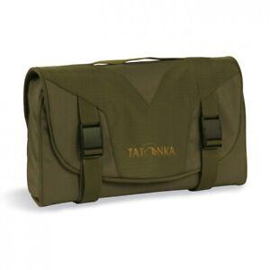TATONKA-SMALL-TRAVEL-CARE-2826-WASH-BAG-TOILETRIES-SHOWER-SHAVE-BAG-OLIVE-DRAB