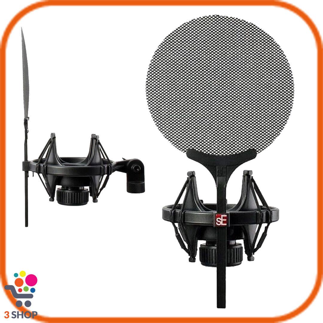 Filtro antipop microfono registrazione studio protettivo supporto asta screen