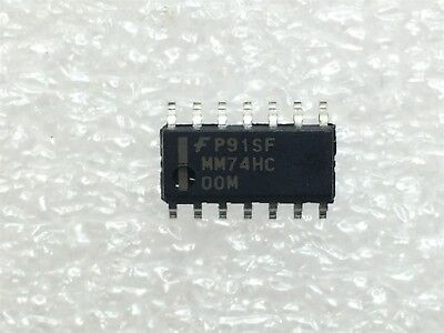 MM74HCT00M NAND Gate IC 4 Channel  14-SOIC