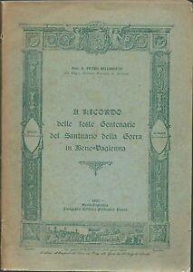Bellonotto Ricordo delle feste del Santuario della Gorra Bene-Vagienna 1921 - Italia - Restituzione con condivisione delle spese postali - Italia