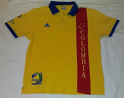 Fan Apparel & Souvenirs 2014 Seleccion Colombia Polo Large Commemorative Fifa World Cup Brazil Brasil Curing Cough And Facilitating Expectoration And Relieving Hoarseness Sports Mem, Cards & Fan Shop