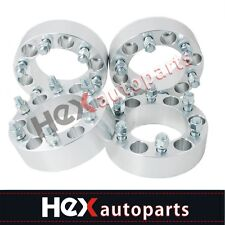 4 Wheel Spacers 6x55 To 6x135mm Adapters 15 78mm For Chevy Gmc Ford 6 Lug
