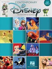 Contemporary Disney 50 Favorite Songs 3rd Edition Piano Vocal Guitar Book