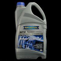 Ravenol ATF MERCON V 4L - Automatikgeriebeöl für FORD, GM dexron D III