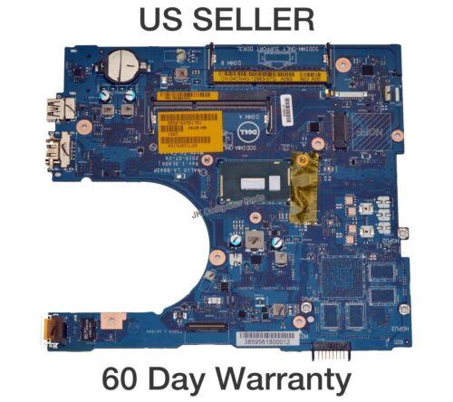 Dell Inspiron 17 5558 Laptop Motherboard Intel i3-5015U 2.1Ghz LA-B843P 4CN4G