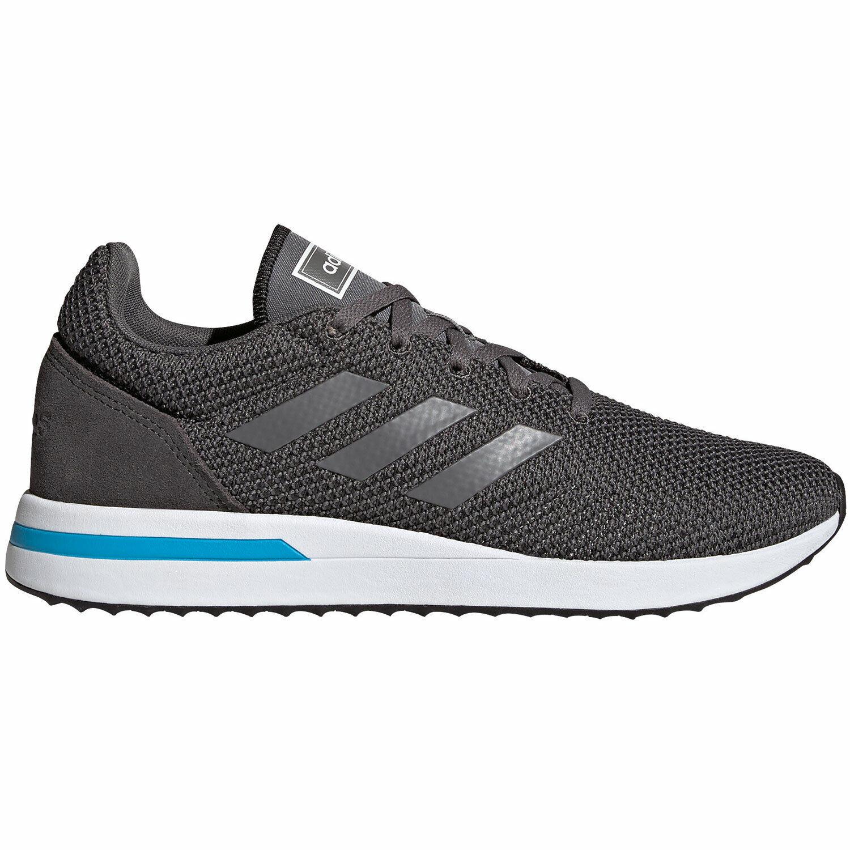 adidas neo RUN7OS Herren Running Turnschuhe grau weiß F34819