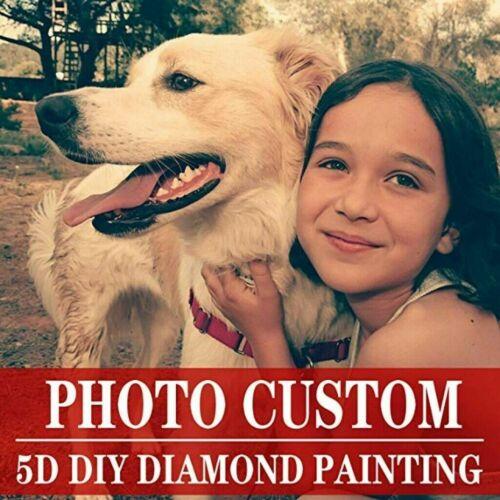 Photo Custom Diamond Painting Full Drill Embroidery Cross Stitch Kit Decor Gift