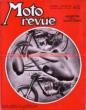 MOTO REVUE 1248 MAGNAT DEBON 175 LMC René GILLET 250 MATCHLESS 500 BSA 650 1955