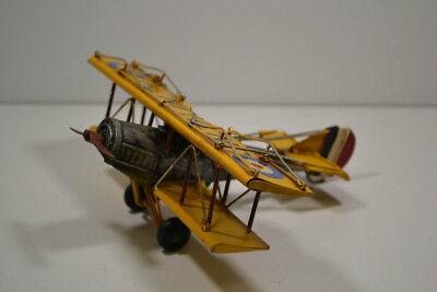 Noch Nicht VulgäR 29 Gelb 18 X 22 X 7,5 Cm Blech-flugzeug