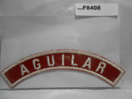 AGUILAR RED & WHITE CITY STRIP F8408