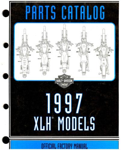 SPORTSTER-883-XL-1200 1997 HARLEY-DAVIDSON XLH SPORTSTER PARTS CATALOG MANUAL
