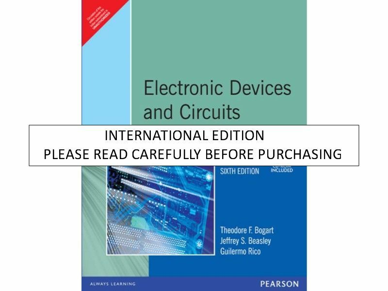 2nd bogart circuits edition by pdf electric