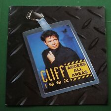 Cliff Richard Access All Areas 1992 Tour Programme