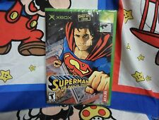 XBOX  Superman: the Man of Steel  Game BRAND NEW SEALED
