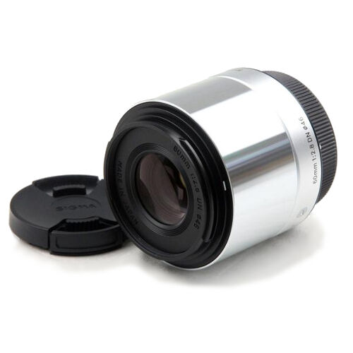 SIGMA Single Focus Standard Lens Art 60mm F2.8 DN Silver for Micro Four Thirds
