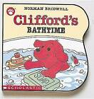 Clifford's Bathtime by Norman Bridwell (Board book, 1991)