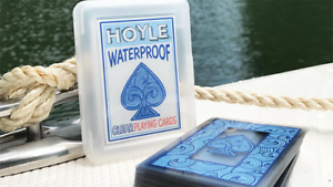 Hoyle-Waterproof-Clear-Plastic-Playing-Cards-Poker-Size-Deck-Flexible-amp-Durable