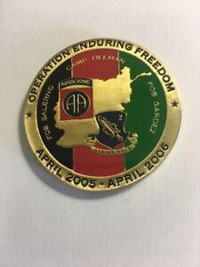 2 504 Pir 82nd Airborne Operation Enduring Freedom 2005
