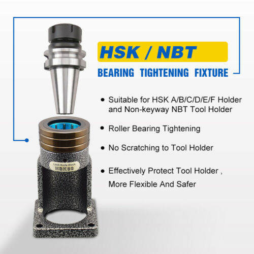 NBT30 Bearing Tightening Fixture Tool Lock Seat Fit No-keyway NBT30 Tool Holder